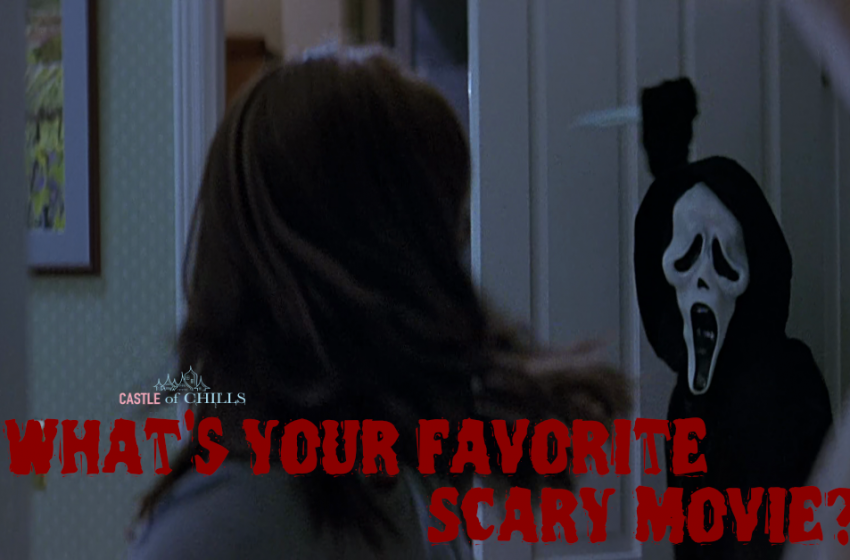 What's Your Favorite Scary Movie? Wes Craven's Scream!